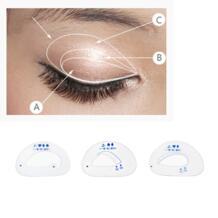 Косметические шаги жениха 6 шт./компл. трафарет для век модель глаза макияж шаблон для макияжа глаз DIY инструмент красоты простой и быстрый макияж гид BU-Bauty 32826049410