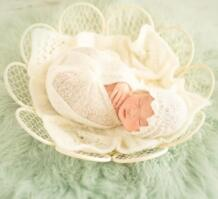 Шикарный новорожденных корзина Детские Гнездо Подставки для фотографий, высокое качество гладить детские сиденья цветочным узором, Детские позирует Prop, # P0282 No name 32718414689