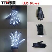 Бесплатная доставка 1 шт. LED этап wreless LED Перчатки/световой Перчатки для Майкла Джексона Billie Jean танца (левый или правой рукой) No name 683043437