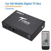 T518 автомобиля ТВ Box isdb-tвнешний мобильный цифровой приемник epg Функция HD UHF 2 антенн Поддержка USB HDMI AV -out ТВ/Радио как X98 Excelvan 32848791812