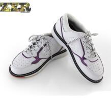 Высококачественная обувь для боулинга унисекс с правой нескользящей подошвой, кроссовки из натуральной кожи, мужские дышащие Сникеры Яркая обувь zuoxiangru 32891217369