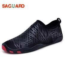 САГУАРО Для мужчин Для женщин пляжные Одежда заплыва aqua водонепроницаемая обувь dving Носки для девочек взрослых Открытый дышащий быстрое высыхание Быстросохнущие кроссовки Zapatos Hombre SAGUARO 32828074597