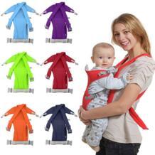 Переноска для младенца Колыбель для новорожденных Детский стропы обертывание сумка кенгуру Новый дышащий Регулируемый передний задний рюкзак велосипедиста No name 32652452068