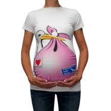 Милая Повседневная Футболка для беременных с забавным рисунком и короткими рукавами; топы для беременных; Блузы для беременных; blusas para embarazadas ropa muje MUQGEW 32976247212