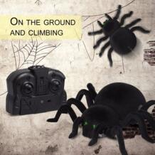Восхождение стены паук удаленного Управление игрушки Инфракрасный RC Тарантул малыш игрушка в подарок Моделирование Пушистый Электронный Паук игрушка для детей мальчиков No name 32845732922
