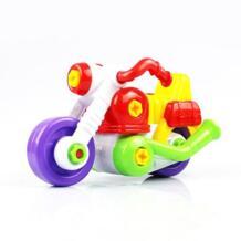 Дети ребенок Разборка и сборка игрушки мультфильм мотоцикла с инструментом Рождественский подарок No name 32830967566