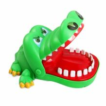 Funny Board game toys Crocodile Mouth Dentist Bite Finger Toy Large Crocodile Pulling Teeth Bar Games Toys Kids For Children MOBPOKO 32810404445