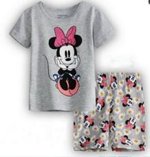 Обувь для мальчиков для девочек детские пижамы комплект Enfant пижамы Детские пижамы Комплекты для девочек детские пижамы От 2 до 7 лет лето мультфильм Ночное yw56 PUCKISH BABY 32859643564