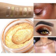 Блеск глаз, макияж Свободные пигменты составляют средства ухода за кожей лица губ глаз Shimmer желе косметический блестки FGHGF 32955397275