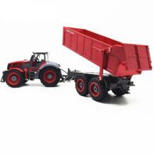 Игрушечный водитель трактора автомобиль 1:28 2,7 МГц радио дистанционное управление строительство RC автомобиль самосвал для детей подарок на день рождения игрушки RD 32833157327