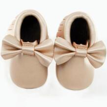 Подошва без логотипа бантик и Детские Туфельки мягкая подошва Модные кисточки детские мокасины для новорожденных младенцы обувь для младенцев из кожи пу сапоги phanindra 32665427756