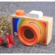 Милые деревянные игрушки Камера Калейдоскопы Room Decor Фотографии деревянный Камера детские, для малышей модные Костюмы аксессуар Игрушечные лошадки No name 32844016869