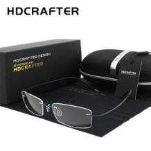 Для мужчин женщин легкий очки без оправы очки оптический Безрамное близорукость/очки для пресбиопии зрелище для CHFEKUMEET 32958902040