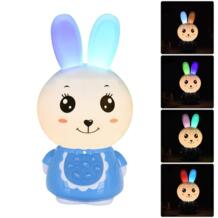 Bunny shape Storytelling Player мигающий перезаряжаемый загружаемый 8 ГБ ОЗУ английская версия Story Player успокоить детей для сна MINOCOOL 32848653733