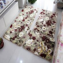 3 шт./комплект большой размер коралловый флис Tapete Противоскользящий коврик для ванной комнаты коврик мягкий напольный коврик коврики для кухни Salle De Bain changbvss 32815475185