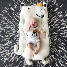 INS Nordic детский матрас осень-зима утолщенный ковер детский игровой коврик для новорожденных Ползунки Alfombra Infantil Украшения в спальню No name 32980036778