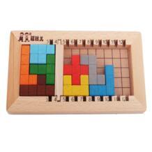 Деревянный Katamino блоки обучения Развивающие игрушки Тетрис строительные блоки Детский подарок No name 32919238896