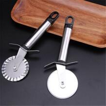 Новый резак для пиццы из нержавеющей стали двойной ролик для пиццы нож нарезка выпечки паста обрезчик теста кухонный инструмент для пиццы 4 узора TPXCKz 32909935591