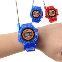 2 шт./пара Новинка 7 в 1 Детские игрушечные часы рация домофон игрушки наружное взаимодействие Битва Игра (без батареи) ODILO 32876235497