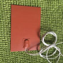 Силиконовый Нагреватель Pad w/Deg 80C термостат советуем пластину для подогрева моторного масла в картере 125X150 мм 100 Вт 12 В нагревание TherMoElec 32759054996