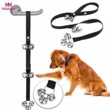 собака звонки премиум качества обучение горшок Большой Регулируемый Собака Колокола для пот ПЭТ дверной звонок из бечёвки MUQGEW 32846394489