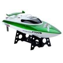 Feilun FT009 игрушки Скорость лодка 2,4G охлаждающей воды 4CH удаленного Управление RC открытый высокая Скорость гоночные лодки (зеленый) MAGICYOYO 32869750204
