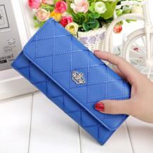 Новый Модный женский кошелек брендовый длинный дизайн женские кошельки из искусственной кожи в клетку высокого качества Женский кошелек клатч 8 цветов NIOBON 32589038664