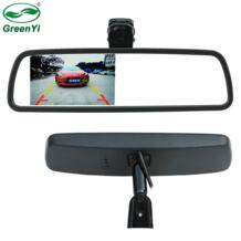 """4,3 """"TFT ЖК дисплей специальная камера заднего вида Зеркало мониторы с оригинальной Монтажный кронштейн, CCTV автомобиля видео парковка GreenYi 32214127192"""