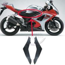 Черный бак мотоцикла боковую крышку Рамки Панель обтекатель отделкой клобук чехол для Suzuki GSXR1000 GSXR 1000 2007-2008 No name 32792433236
