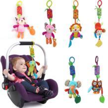 Лидер продаж; новинка детские игрушки мобильный детские плюшевые игрушки кровать ветер погремушки колокол игрушка для коляски новорожденных SA882074 LAIMALA 32799430252