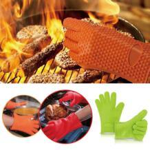 1 шт., силиконовые термостойкие перчатки, многофункциональные рукавицы для духовки, перчатки для барбекю, кухонные прихватки, перчатки для приготовления пищи, толстые рукавицы для выпечки-in Перчатки и рукава для духовки from Дом и животные on AliExp JC BROS 32812668840