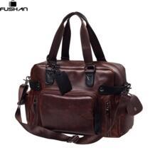 Высокое качество Для мужчин Дорожная сумка Топ Кожа Повседневное Для мужчин сумки Винтаж Для мужчин Сумка Элегантный дизайн сумка-мессенджер вещевой мешок St 32686077536