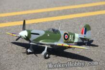 Фмс новый мини 800 мм / 0.8 м Spitfire V2 эпо фмс 3X стабилизация FMS021-3X RC warbird самолет ( RTF ), Без аккумулятор No name 2027608652