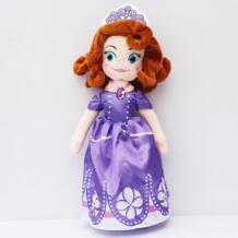 София первая Принцесса София кукла плюшевые игрушки 32 см мягкие игрушки куклы для Одежда для девочек, Бесплатная доставка 1 шт. Rongzou 32386669517