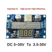 100 W DC DC-DC 3 ~ 35 В до 3,5 ~ 35 V LTC1871 усилитель Удлинительный модуль преобразователя регулируется Питание + Вольтметр diymore 32663004425