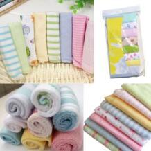 8 шт., новинка 2018 года, мягкое детское хлопковое банное полотенце для новорожденных мальчиков и девочек, милое мягкое полотенце для стирки pudcoco 32844957110