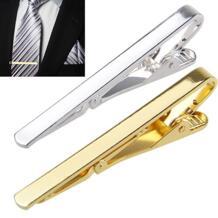 Металл Серебро Золото Простой галстук бар застежка зажим булавки для мужчин подарок 6X8L BLUELANS 32518987067