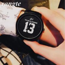 1314 2017 Повседневные часы Для мужчин Элитный бренд кожаный ремешок Любители женское платье часы Винтаж спортивные relogios наручные часы AB646 YANGTE 32628662348