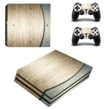 Аксессуары игры для Playstation 4 PS4 Pro игровой консоли наклейка кожи Наклейки + 2 предмета Наклейки для PS4 Pro контроллер 0220 No name 32775094221