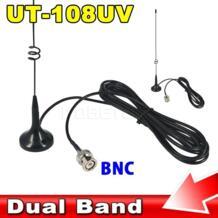транспортных средствах Антенна UT-108UV Dual Band 144/430 мГц для BNC для Nagoya рации ICOM IC-V8 IC-V82 IC-V85 kebidumei 32832188083