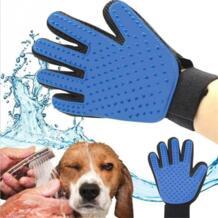 Домашние животные Собаки Кот щетка, расческа очистки массаж Уход за лошадьми товар для животных палец очистки Расческа для собаки перчатки для домашних животных Paercute 32867008790
