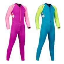 2 мм неопрена Дети Длинные рукава цельный гидрокостюм для дайвинга мальчиков Сноркелинга одежда девушки серфинг гидрокостюм No name 32836344639