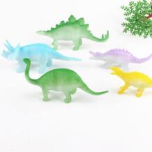 8 шт./компл. ночник серебристых Динозавров Рисунок игрушка в подарок для Для детей игрушки и хобби No name 32640914233