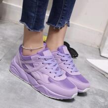 2018 Осенняя модная женская повседневная обувь удобные дышащие сетчатые кроссовки на платформе повседневная женская обувь женские кроссовки Basket Femme FOORAABO 32797324437