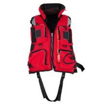 Взрослый полиэстер плавательный спасательный жилет рыбалка дрейфующих на лодках выживания Рыбалка безопасности куртка Вода Спортивная одежда Aotu 32890085043