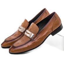 Модные коричневые/черные летние Лоферы социальные обувь Мужская модельная обувь из натуральной кожи повседневные Бизнес обувь мужские свадебные жених обувь SERDAOMANI 32643559354