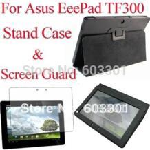 Для Asus Transformer Pad TF300 с функцией подставки и Экран защитная пленка, для Asus TF300TG TF300T TF300 с откидной крышкой и защитное покрытие для экрана No name 583235180