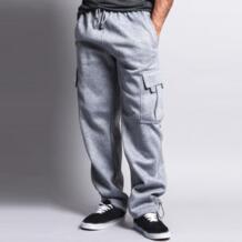 Зимние теплые толстые бархатные спортивные штаны мужские спортивные мешковатые флисовые брюки карго Брюки для бега мужские спортивные брюки большие размеры 3XL INCERUN 32844933174
