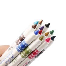 12 Цветов/Комплект Высокое качество Тени для век Блеск для губ Подводка для глаз Карандаш Pen Для женщин Красота Макияж косметический Наборы для ухода за кожей тени для век ручка SKONHED 32818194182