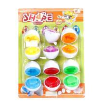 Детские развивающие игрушки сопряжение яйцо мудрость Смарт яйцо вращающееся яйцо распознавание формы цвет девушка игрушки для пищевой Детский игрушки No name 32881470183